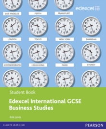 Edexcel International GCSE Business Studies Student Book with ActiveBook CD, Mixed media product Book
