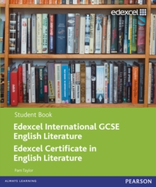 Edexcel International GCSE English Literature Student Book with ActiveBook CD, Mixed media product Book