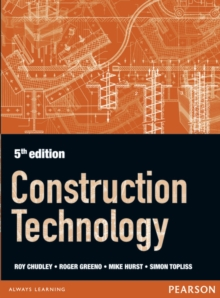 Construction Technology 5th edition, Paperback / softback Book