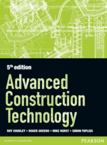 Advanced Construction Technology 5th edition, Paperback Book
