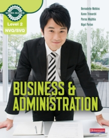 NVQ/SVQ : Business & Administration Candidate Handbook Level 2, Paperback Book