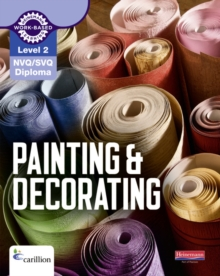 Level 2 NVQ/SVQ Diploma Painting and Decorating Candidate Handbook 3rd edition, Paperback Book