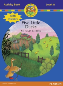 Jamboree Storytime Level A: Five Little Ducks Activity Book with Stickers, Mixed media product Book