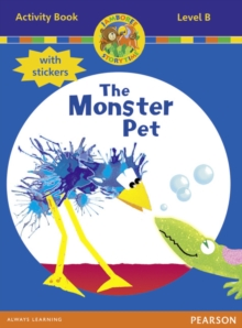 Jamboree Storytime Level B: The Monster Pet Activity Book with Stickers, Mixed media product Book