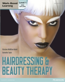 Level 1 NVQ Diploma Hairdressing and Beauty Therapy Candidate Handbook, Paperback Book
