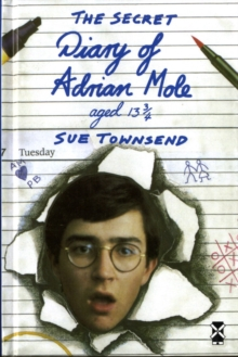 The Secret Diary of Adrian Mole Aged 13 3/4, Hardback Book