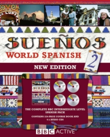 Suenos World Spanish 2: language pack with cds, Mixed media product Book