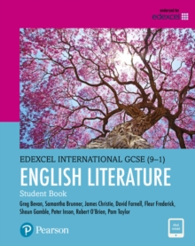 Pearson Edexcel International GCSE (9-1) English Literature Student Book, Mixed media product Book