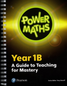 Power Maths Year 1 Teacher Guide 1B, Paperback Book
