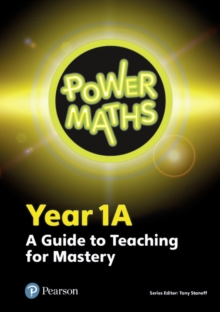 Power Maths Year 1 Teacher Guide 1A, Spiral bound Book