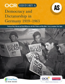 OCR A Level History A: Democracy and Dictatorship in Germany 1919-1963, Mixed media product Book