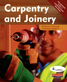 Carpentry and Joinery NVQ and Technical Certificate Level 3 Candidate Handbook, Paperback Book