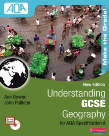 Understanding GCSE Geography for AQA A: Student Book, Mixed media product Book