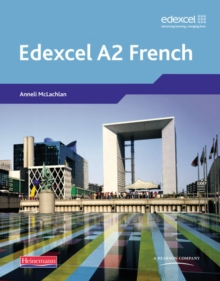 Edexcel A Level French (A2) Student Book and CDROM, Mixed media product Book