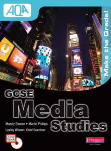 AQA GCSE Media Studies Student Book with ActiveBook CD-ROM, Mixed media product Book