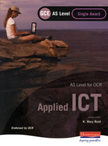 OCR AS GCE Applied ICT Single Award, Paperback Book