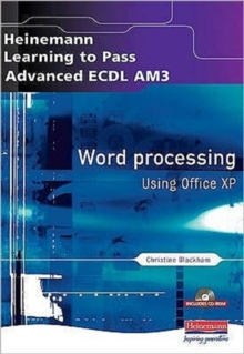 Advanced ECDL Word Processing AM3 for Office XP, Mixed media product Book