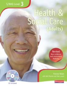 NVQ/SVQ Level 3  Health and Social Care Candidate Book, Revised Edition, Mixed media product Book
