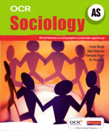 OCR A Level Sociology Student Book (AS), Paperback Book