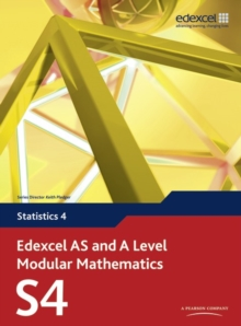 Edexcel AS and A Level Modular Mathematics Statistics 4 S4, Mixed media product Book
