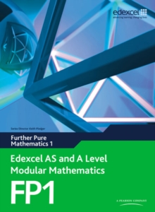 Edexcel AS and A Level Modular Mathematics Further Pure Mathematics 1 FP1, Mixed media product Book