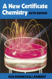A New Certificate Chemistry, Paperback Book