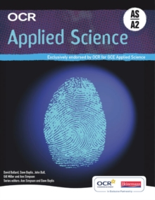 OCR Applied Science AS & A2 Student Book, Paperback Book