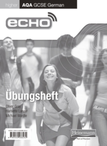 Echo AQA GCSE German Higher Workbook 8 Pack, Multiple copy pack Book