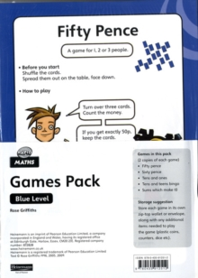 Rapid Maths: Stage 2 Games Pack, Cards Book