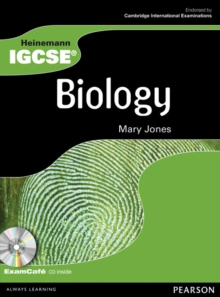 Heinemann IGCSE Biology Student Book with Exam Cafe CD,  Book