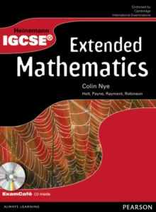 Heinemann IGCSE Extended Mathematics Student Book with Exam Cafe CD, Mixed media product Book
