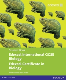 Edexcel International GCSE Biology Student Book with ActiveBook CD, Mixed media product Book