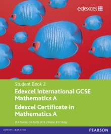 Edexcel International GCSE Mathematics A Student Book 2 with ActiveBook CD, Mixed media product Book