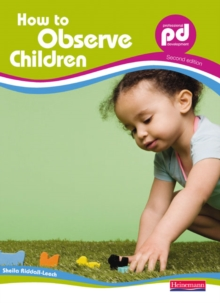 How to Observe Children, Paperback Book