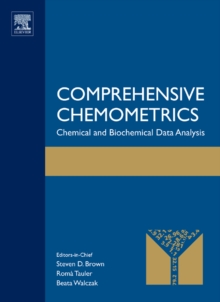 Comprehensive Chemometrics : Chemical and Biochemical Data Analysis, Mixed media product Book