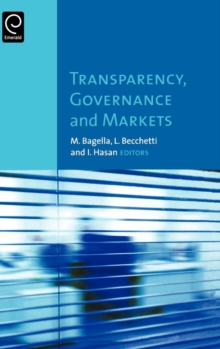 Transparency, Governance and Markets, Hardback Book