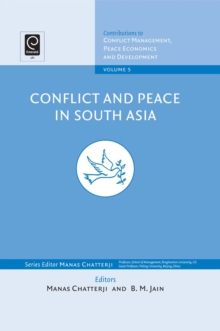 Conflict and Peace in South Asia, Hardback Book