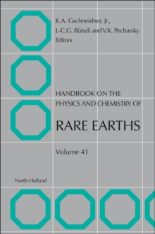 Handbook on the Physics and Chemistry of Rare Earths : Volume 33, Hardback Book