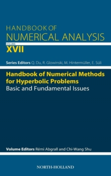 Handbook of Numerical Methods for Hyperbolic Problems : Basic and Fundamental Issues Volume 17, Hardback Book