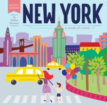 New York: A Book of Colors, Hardback Book