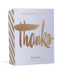 Thank You in Twelve Languages : 12 Foil-Stamped Note Cards with Envelopes, Cards Book