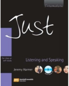 Just Listening and Speaking Intermediate, Mixed media product Book