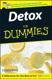 Detox For Dummies, Paperback Book