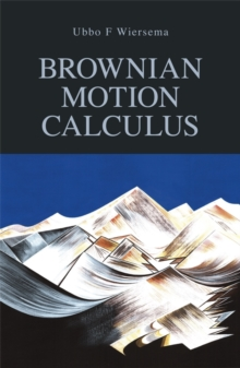 Brownian Motion Calculus, Paperback Book