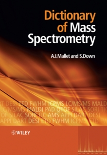 Dictionary of Mass Spectrometry, Paperback / softback Book
