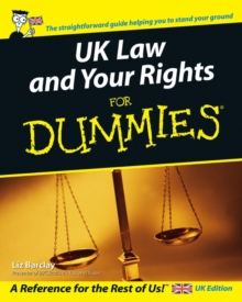 UK Law and Your Rights For Dummies, Paperback / softback Book