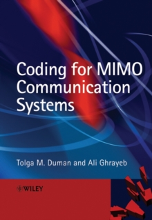 Coding for MIMO Communication Systems, Hardback Book