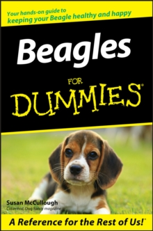 Beagles for Dummies, Paperback Book