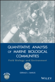Quantitative Analysis of Marine Biological Communities : Field Biology and Environment, Hardback Book