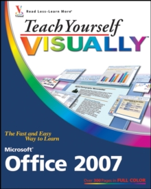 Teach Yourself Visually Microsoft Office 2007, Paperback Book
